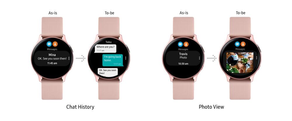 Estas son las nuevas funciones para el Galaxy Watch Active 2
