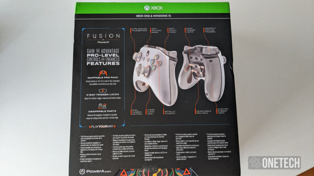 PowerA Fusion Pro, analizamos este mando cableado para Xbox 5