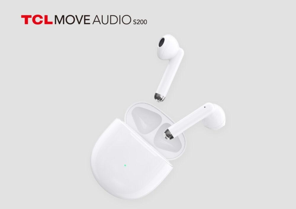 TCL lanza sus nuevos auriculares MOVEAUDIO S200 True Wireless con cancelación de ruido ENC