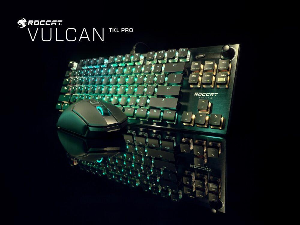 Roccat presenta tres nuevos teclados de la serie Vulcan y sus nuevos Titan Optical Switch 2