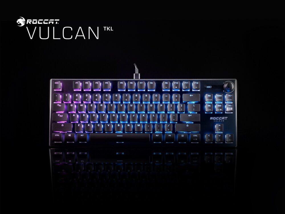 Roccat presenta tres nuevos teclados de la serie Vulcan y sus nuevos Titan Optical Switch 3