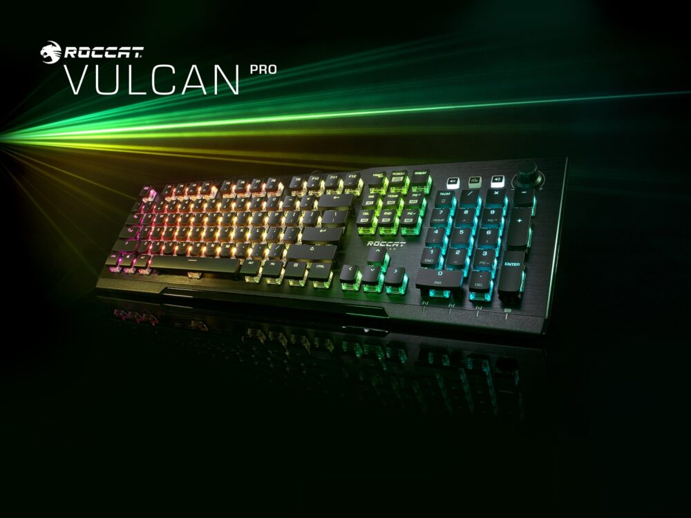 Roccat presenta tres nuevos teclados de la serie Vulcan y sus nuevos Titan Optical Switch 1