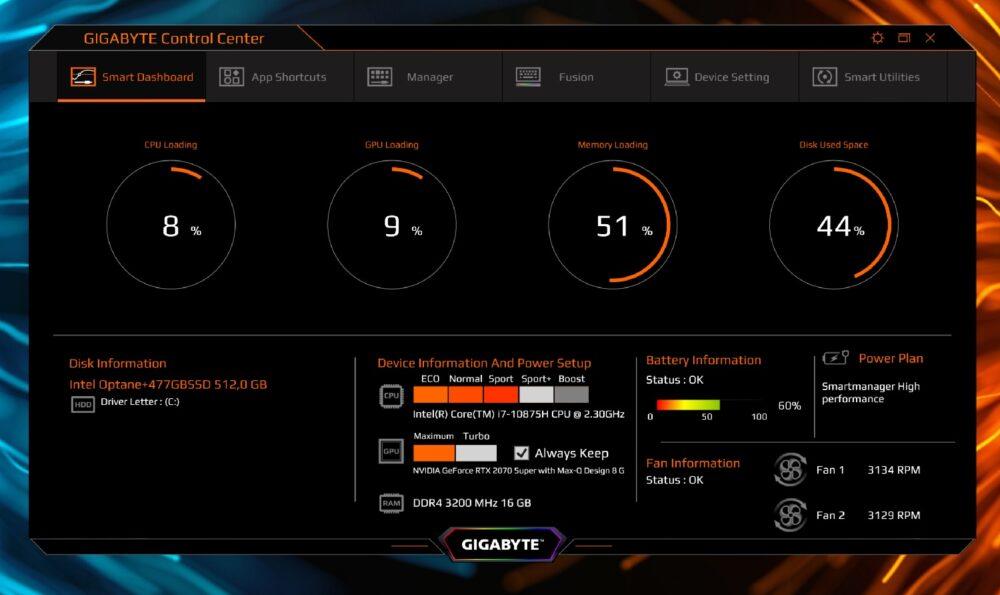 Gigabyte Aero 15 OLED XB potencia pura con Microsoft Azure - Análisis 11