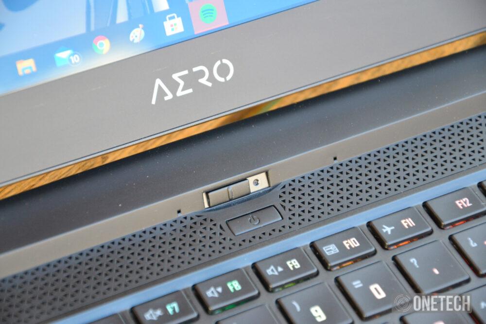 Gigabyte Aero 15 OLED XB potencia pura con Microsoft Azure - Análisis 6