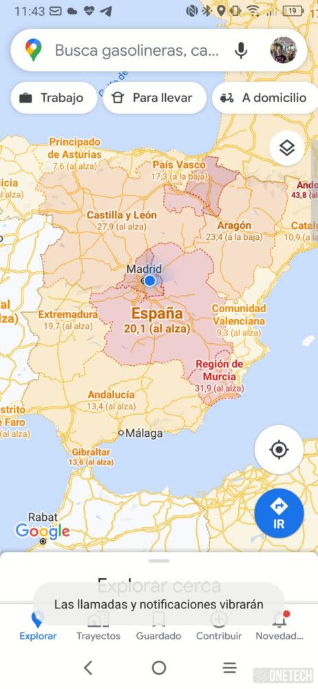 Google Maps, asi se activa y se ve la nueva capa Covid-19 4