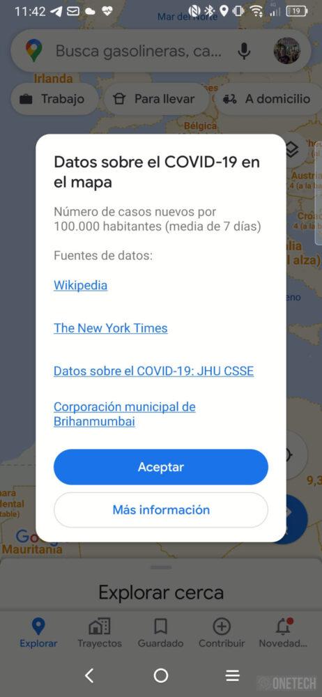 Google Maps, asi se activa y se ve la nueva capa Covid-19 1