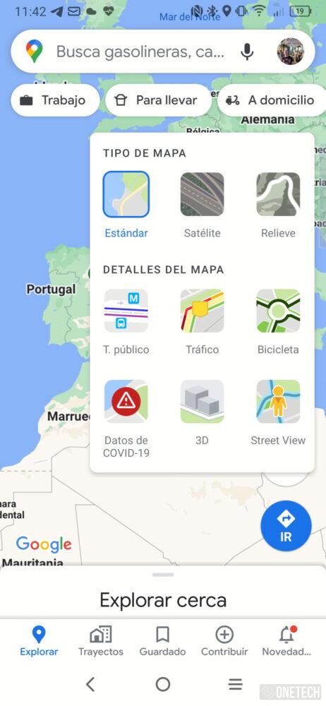 Google Maps, asi se activa y se ve la nueva capa Covid-19