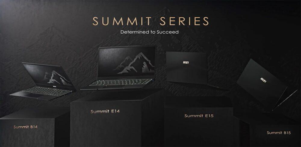 MSI renueva su logo y presenta sus nuevos portátiles Summit, Prestige y Modern