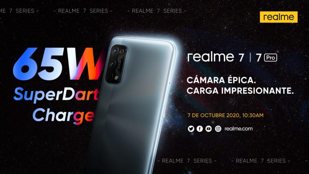 Realme presentará su Serie 7 en España el 7 de octubre