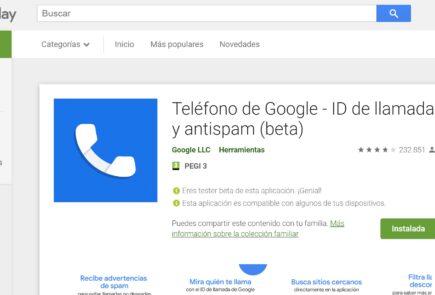 Teléfono de Google - ID de llamada y antispam