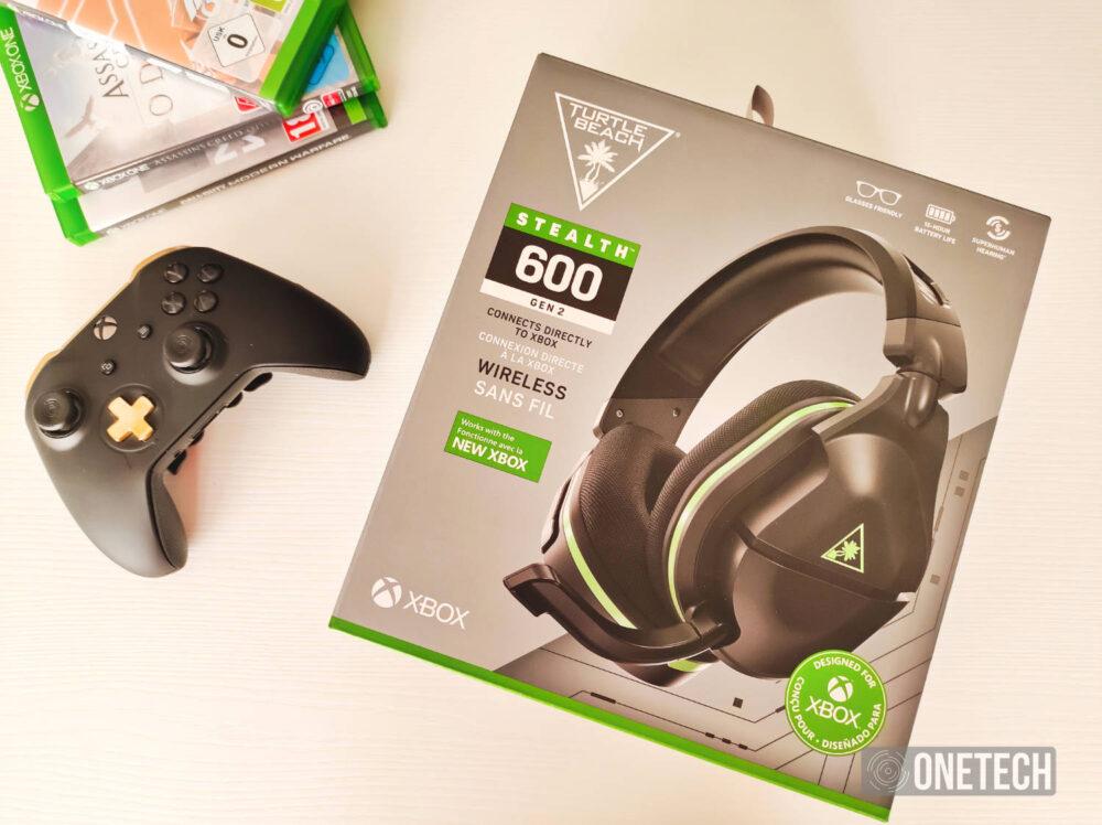 Turtle Beach Stealth 600 Gen 2: auriculares inalámbricos para Xbox - Análisis