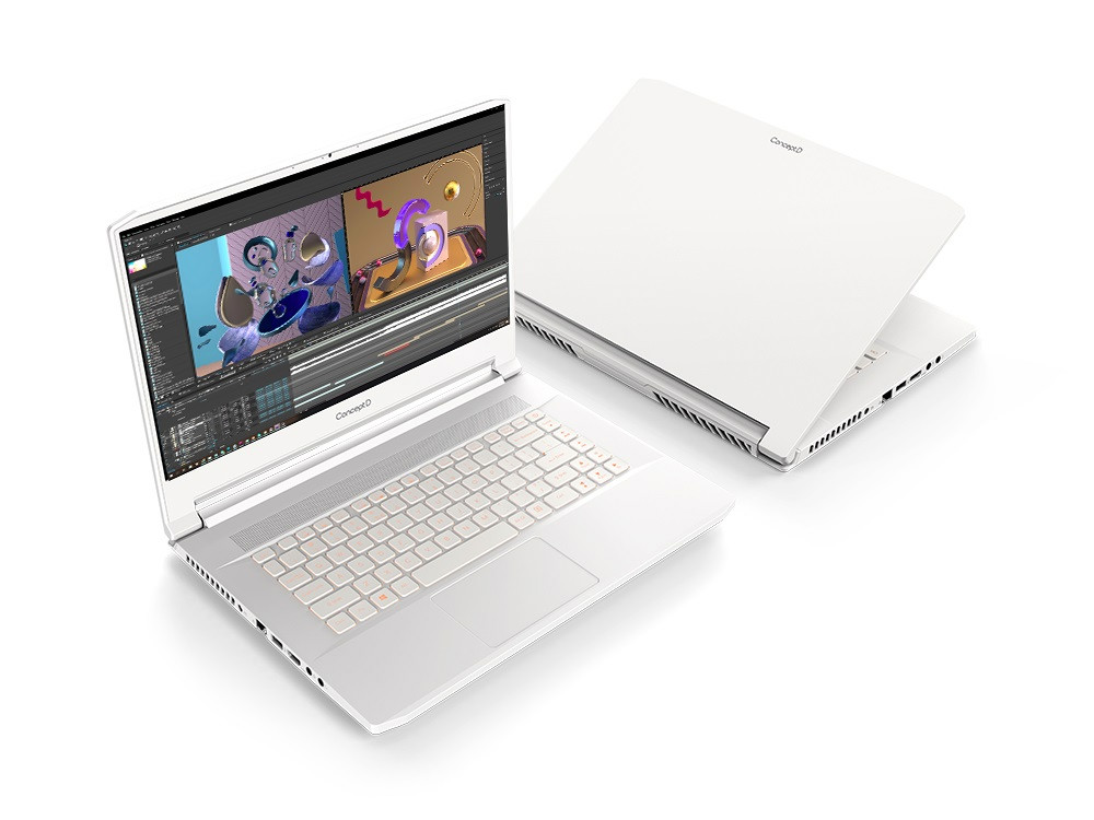 Nuevos dispositivos ConceptD de Acer pensados para creadores 1