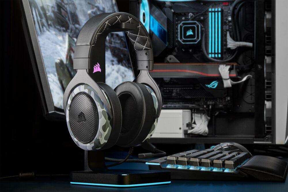 HS60 Haptic, los nuevos auriculares hápticos de Corsair 1
