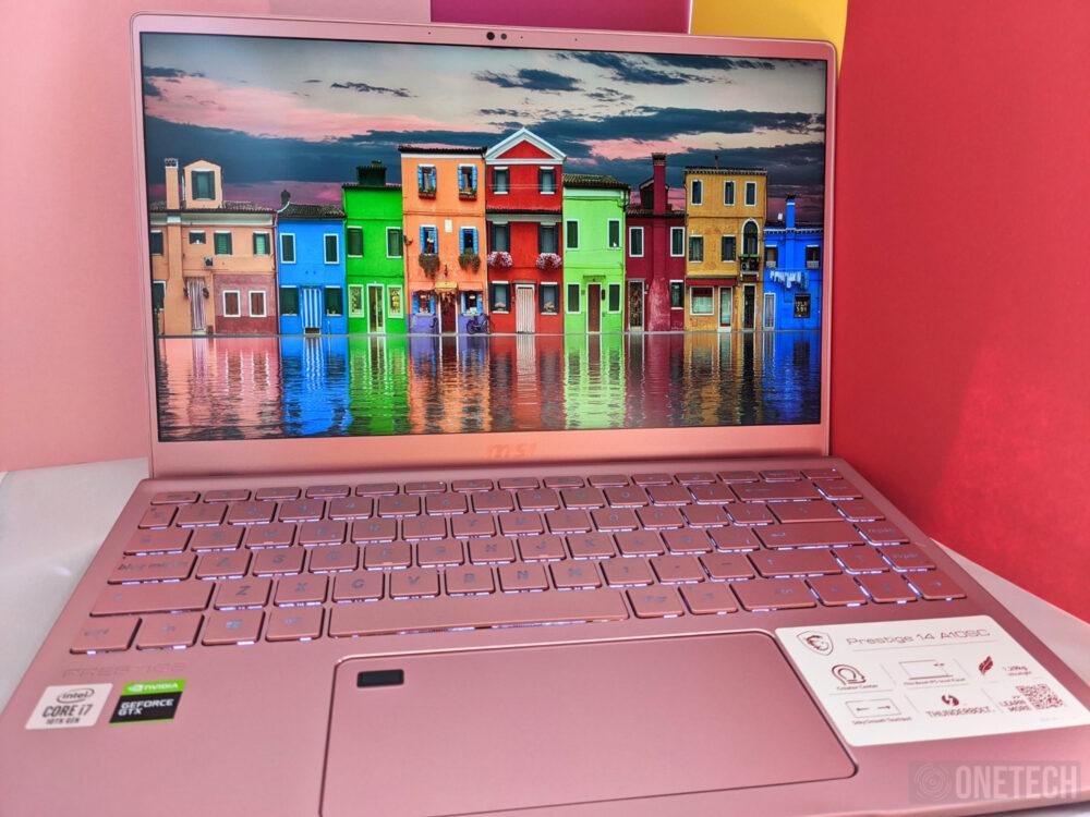 MSI Prestige 14 A10SC Pink Edition. Analizamos este portátil para creadores 18
