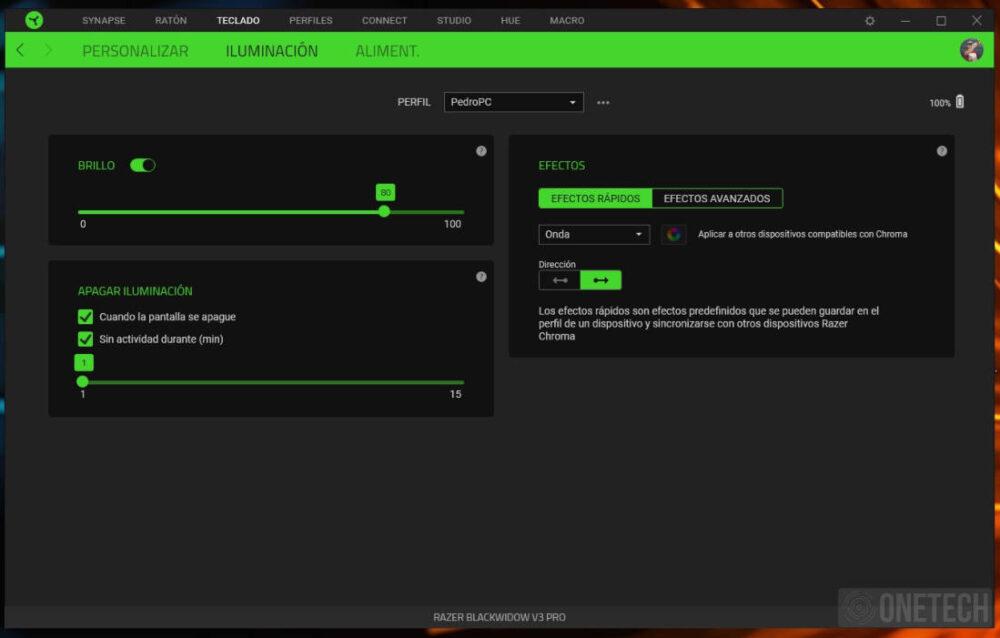 Razer Blackwidow V3 Pro, un teclado inalámbrico de alto rendimiento - Análisis 3
