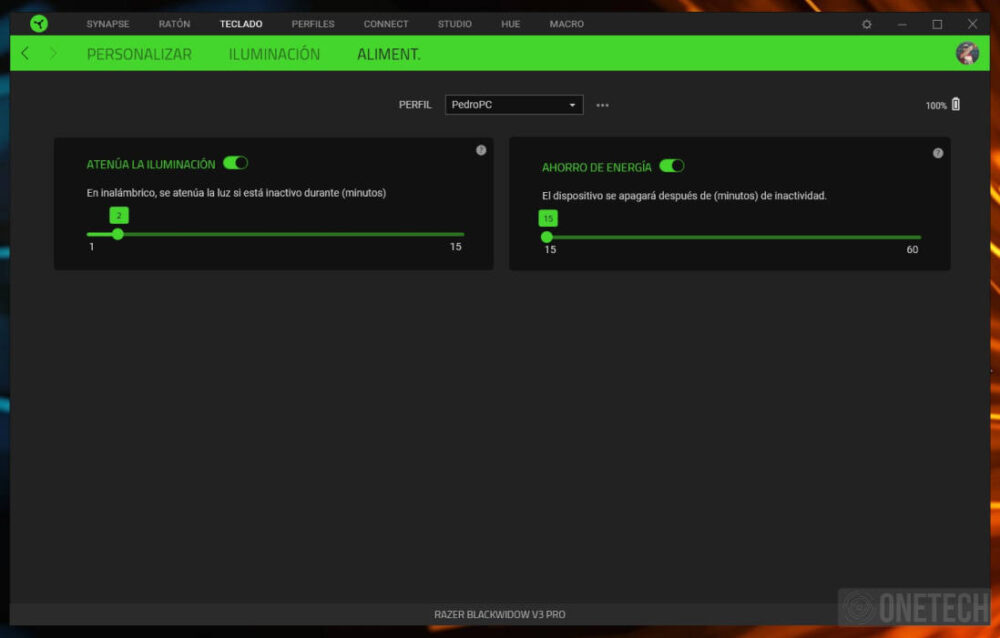 Razer Blackwidow V3 Pro, un teclado inalámbrico de alto rendimiento - Análisis 2