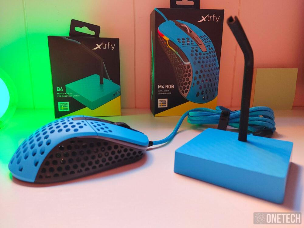 Probamos el ratón Xtrfy M4 RGB y el Bungee B4, una dupla gamer con más de una sorpresa - Análisis 1