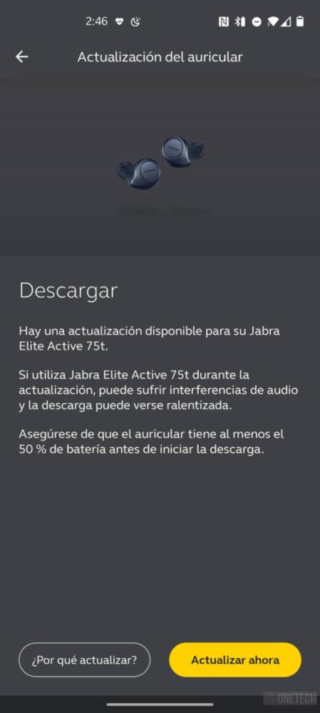 Los Jabra Elite Active 75t ya cuentan con cancelación de ruido activa 1