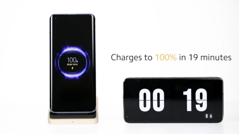 Xiaomi anuncia una carga inalámbrica pionera de 80W