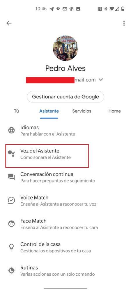 Ya puedes cambiar la voz de Google Assistant. Te contamos como hacerlo
