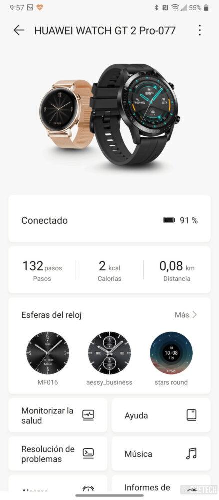 Huawei Watch GT 2 Pro, la mejor autonomía ahora viene más protegido - Análisis 3