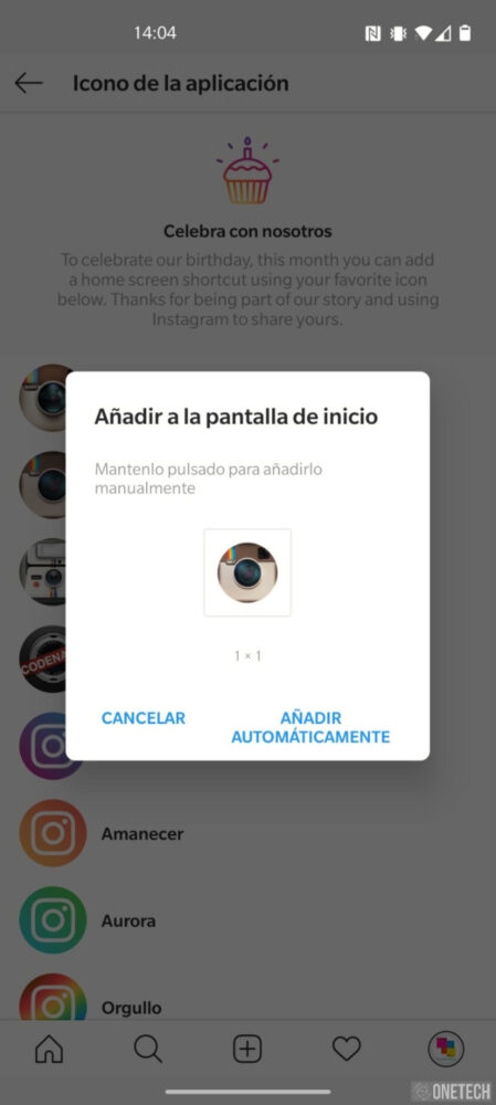 Instagram: te decimos como puedes cambiar su icono 5