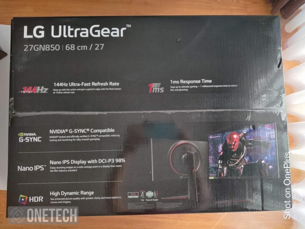 Probamos el LG 27GN850, un monitor gamer Nano IPS QHD con 144Hz y un tiempo de respuesta de 1ms 3