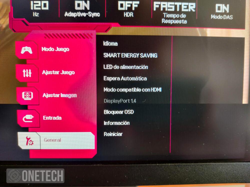 Probamos el LG 27GN850, un monitor gamer Nano IPS QHD con 144Hz y un tiempo de respuesta de 1ms 14
