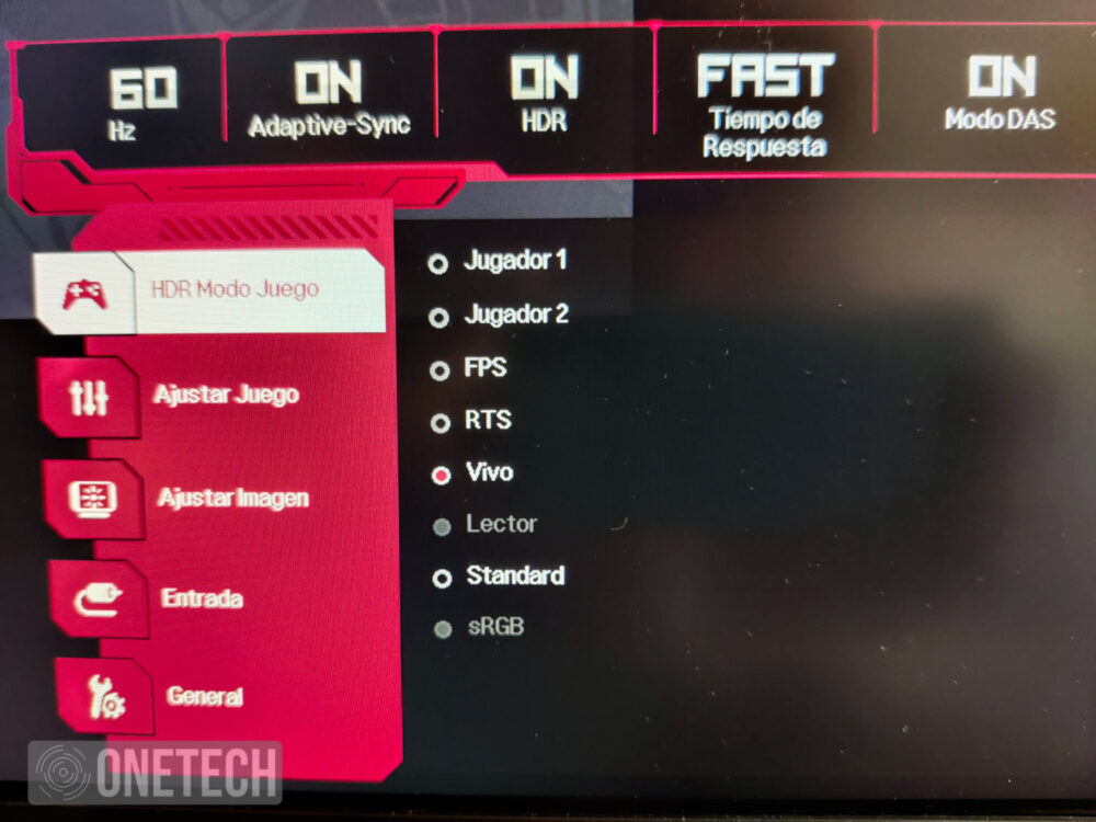 Probamos el LG 27GN850, un monitor gamer Nano IPS QHD con 144Hz y un tiempo de respuesta de 1ms 11