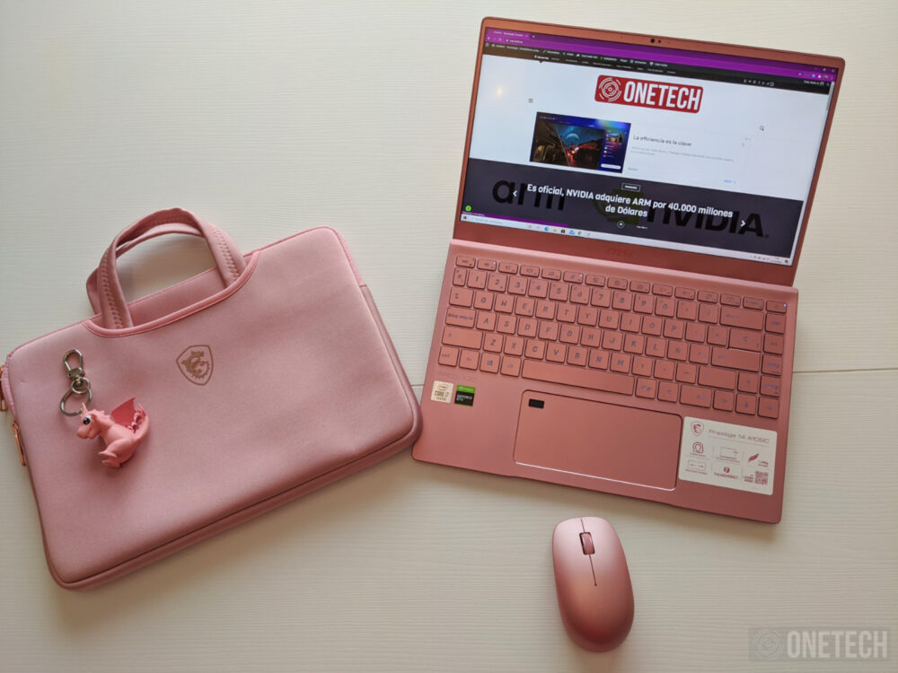 MSI Prestige 14 A10SC Pink Edition
