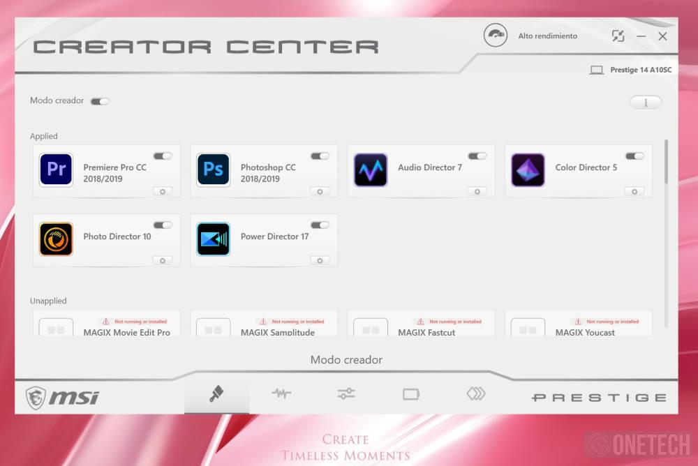 MSI Prestige 14 A10SC Pink Edition. Analizamos este portátil para creadores 8
