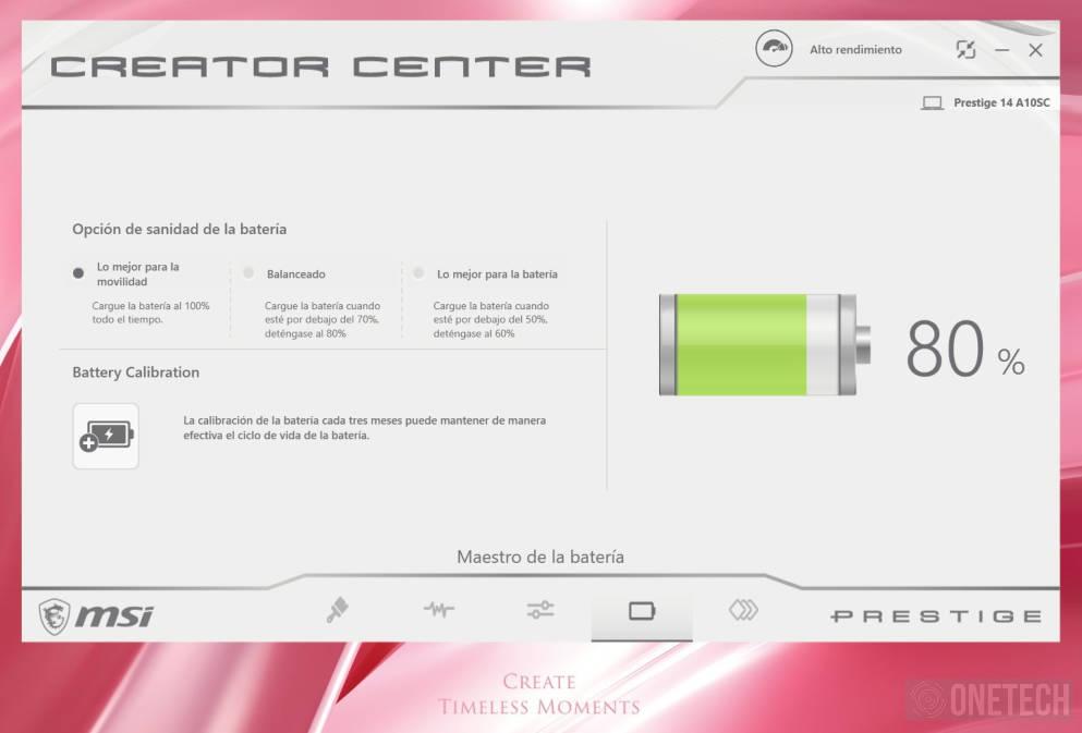 MSI Prestige 14 A10SC Pink Edition. Analizamos este portátil para creadores 10
