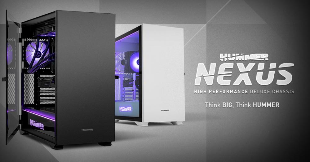Hummer Nexus, las nuevas cajas de alto rendimiento de Nox 1