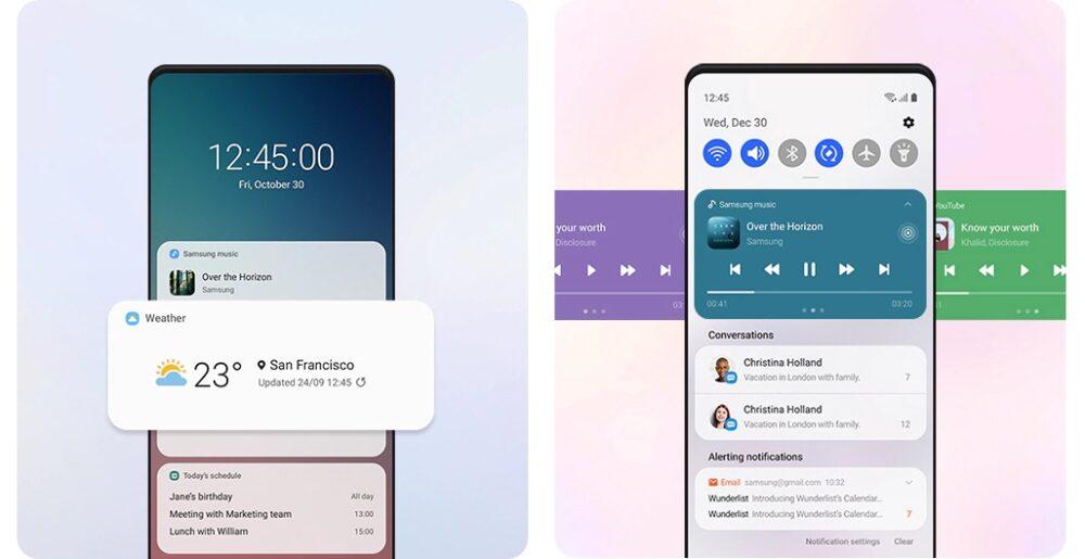 Samsung detalla las novedades de One UI 3.0 1