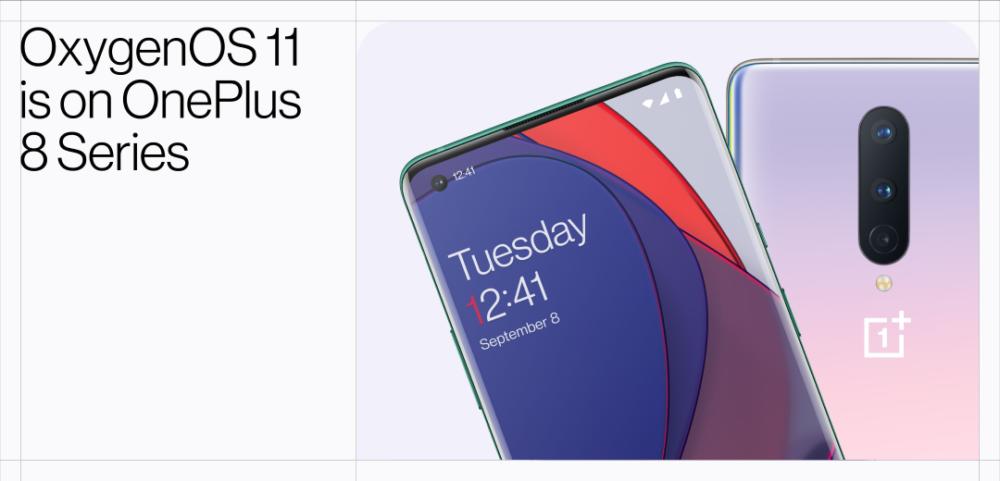 OxygenOS 11 basado en Android 11 se lanza para los OnePlus 8