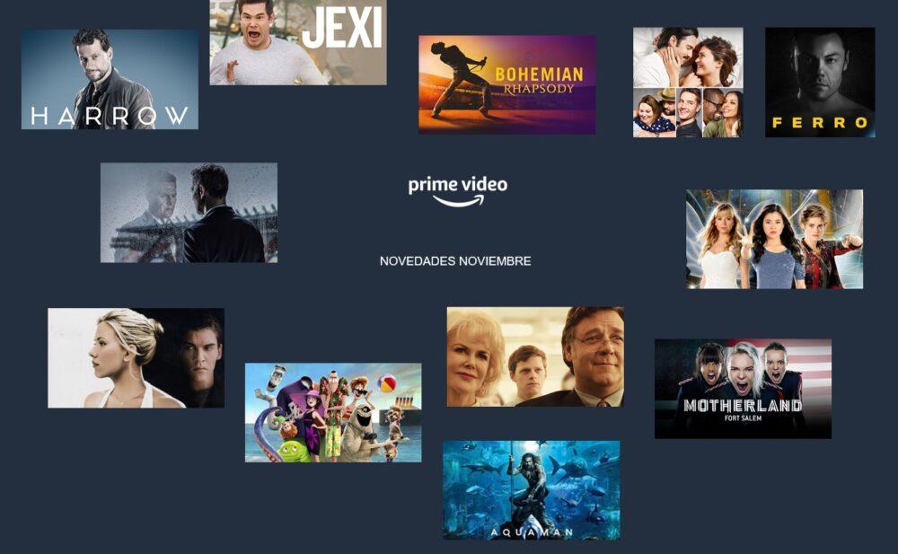 Amazon Prime Video: estos son sus estrenos para Noviembre de 2020
