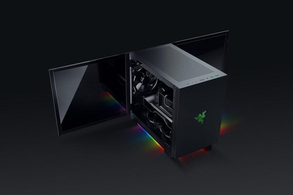 Razer presenta sus nuevas cajas Tomahawk M1 Mini-ITX y Tomahawk A1 ATX 2
