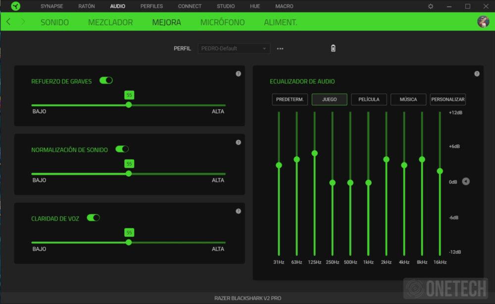 Razer Blackshark V2 Pro, auriculares inalámbricos con sonido THX - Análisis 7