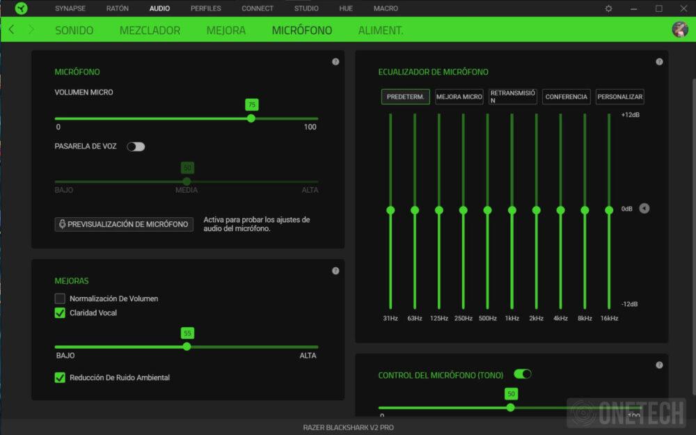 Razer Blackshark V2 Pro, auriculares inalámbricos con sonido THX - Análisis 6