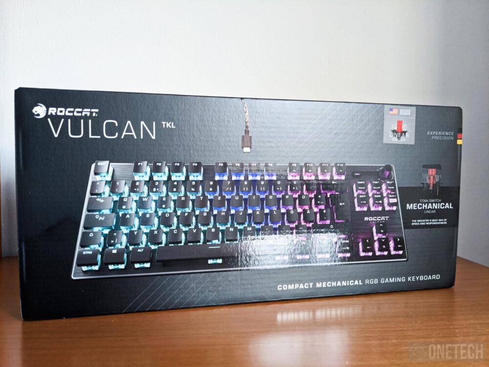 Análisis del Roccat Vulcan TKL, un teclado gamer compacto 17