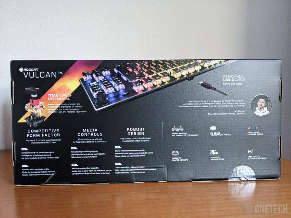 Análisis del Roccat Vulcan TKL, un teclado gamer compacto 16