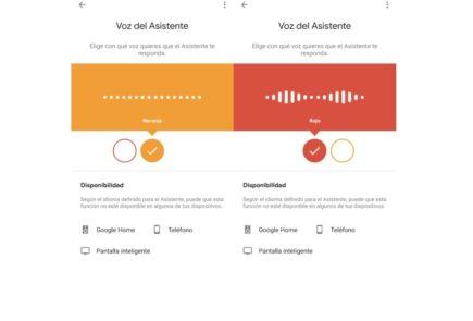 Ya puedes cambiar la voz de Google Assistant