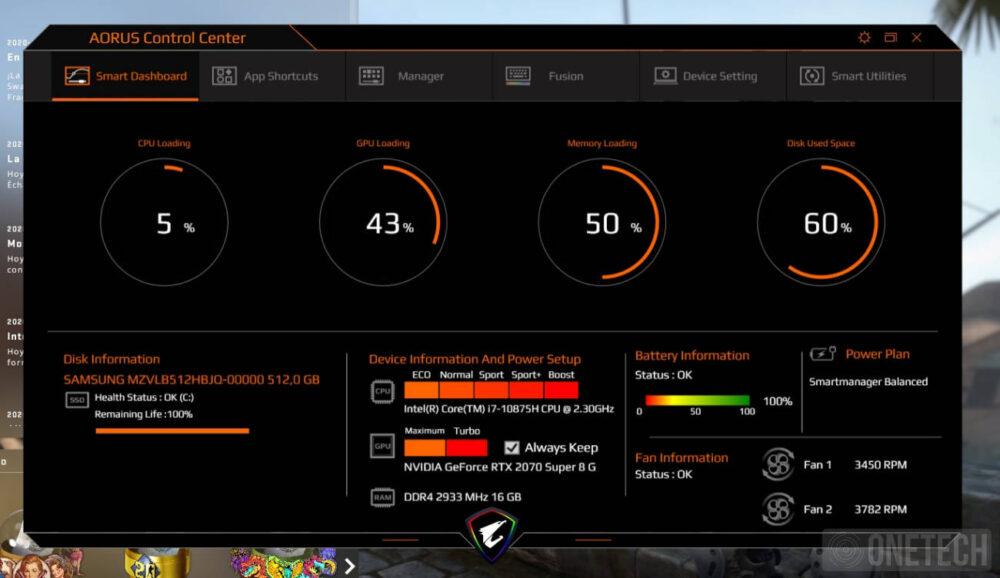 Aorus 17G XB, la experiencia de un portátil gamer con teclado mecánico - Análisis 19