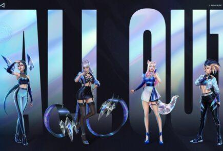 K/DA, el grupo virtual de League of Legends lanza All Out, su nuevo EP 11