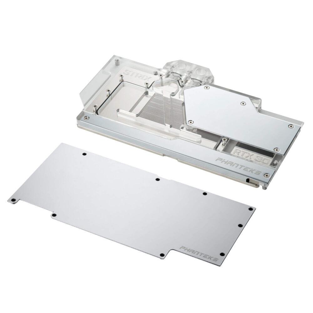 Phanteks presenta sus bloques y placas Glacier G30 STRIX para gráficas ASUS ROG STRIX RTX 30 Series 2