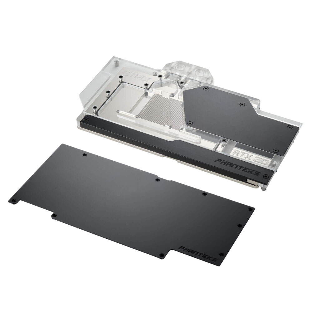 Phanteks presenta sus bloques y placas Glacier G30 STRIX para gráficas ASUS ROG STRIX RTX 30 Series 1