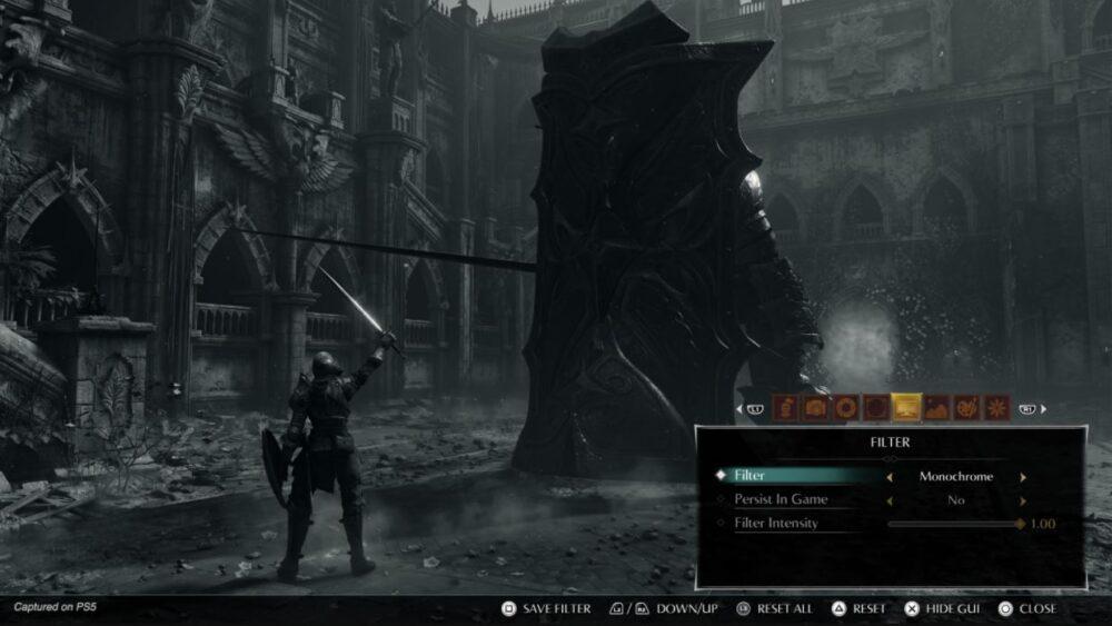 Demon's Souls nos enseña su creador de personajes y el modo foto 6