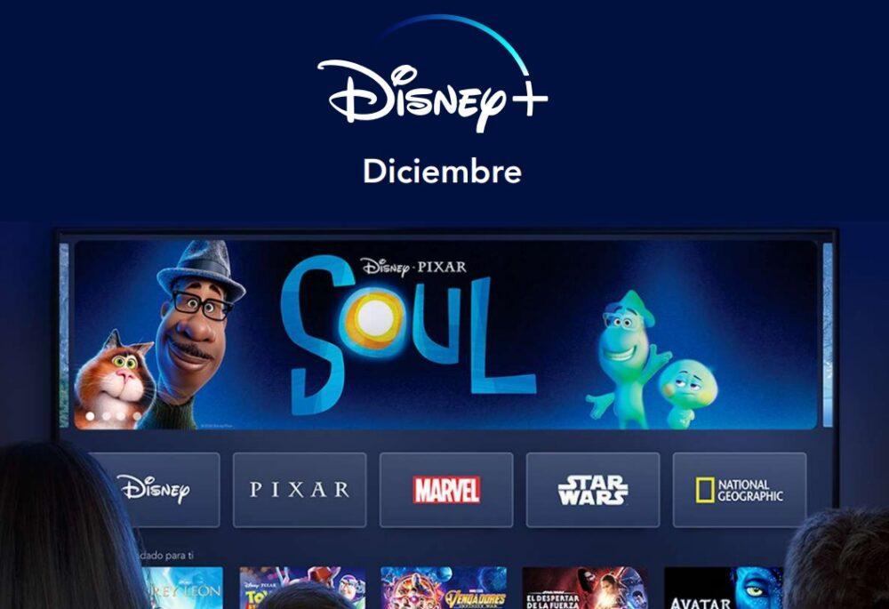 Disney Plus: estrenos en diciembre