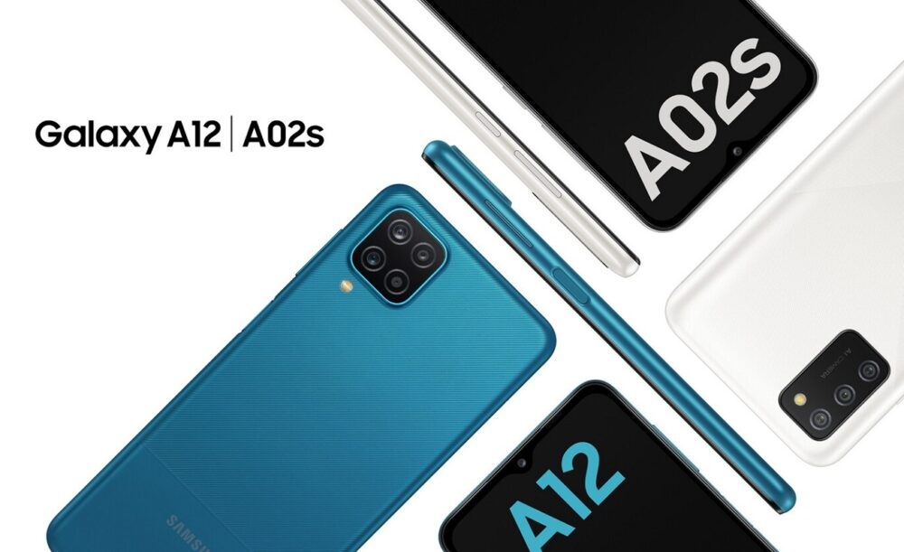 Samsung Galaxy A12 y Galaxy A02s