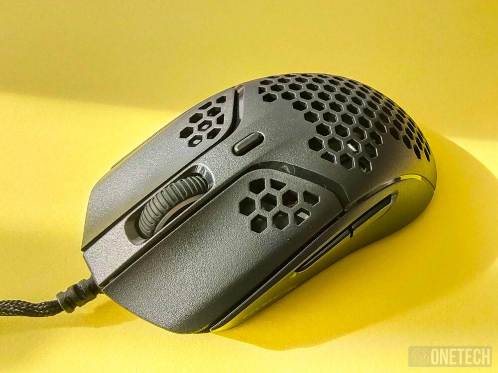 HyperX Pulsefire Haste, un ratón perforado ultraligero - Análisis 17
